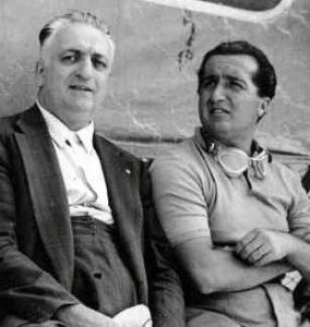Enzo and Alfredo 'Dino' Ferrari
