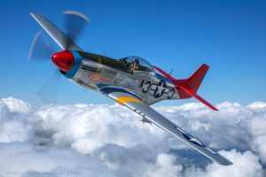 P51 at props and Pistons 2019